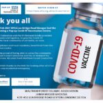 Covid Pop-Up Vaccine At WFIA Mosque